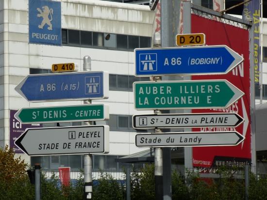 Anfahrt Paris Stade de France