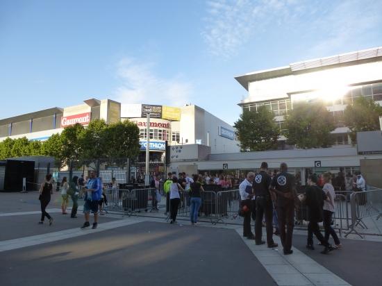 Eingang Stade de France, Block G