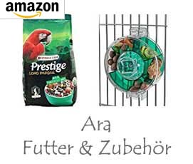 Ara - Futter & Zubehör