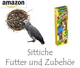 Sittiche Futter & Zubehör