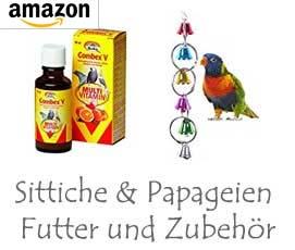 Sittiche & Papageien Futter & Zubehör