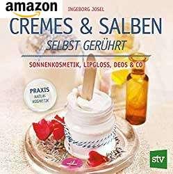 Eincremen mit selbstgemachter Creme/Salbe
