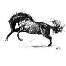 Pferdekunst, Pferde-Gemälde